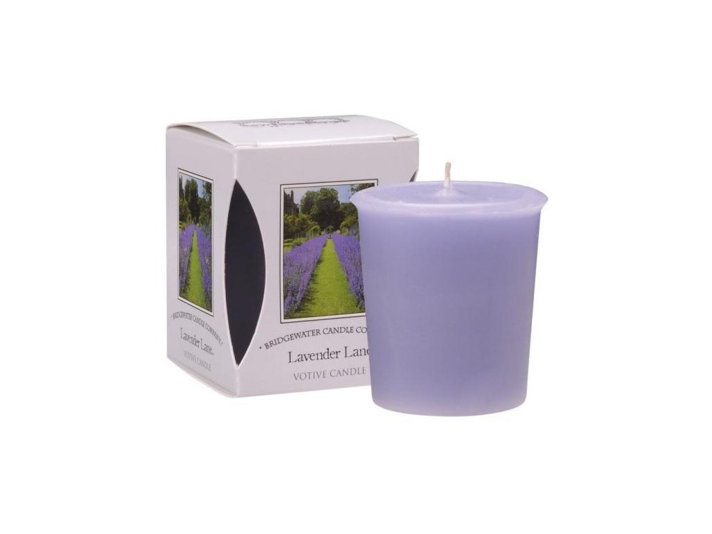 Bridgewater Candle Company  Votivní Svíčka Lavender, 15 hodin