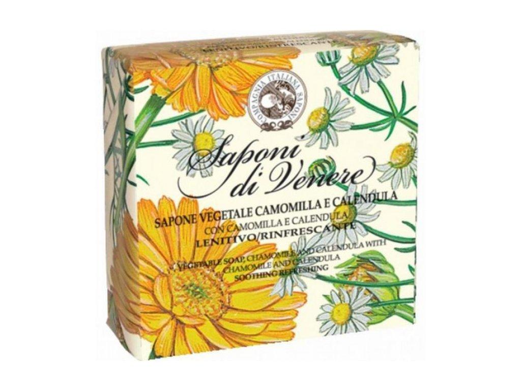 La Dispensa Italské přírodní mýdlo Camomilla E Calendula ( heřmánek a měsíček ), 200 g