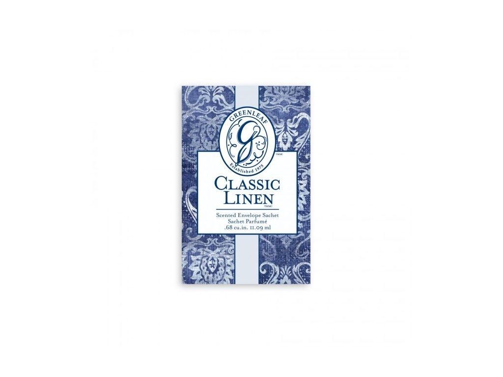 gl small sachet classic linen