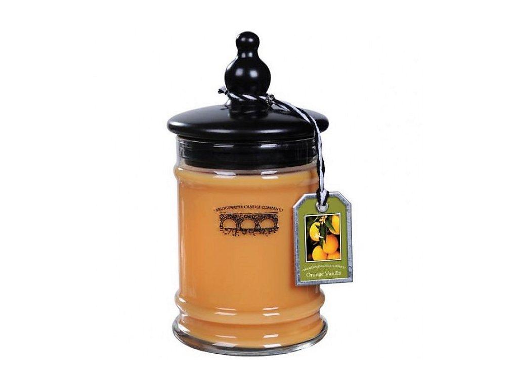 jars orange vanilla