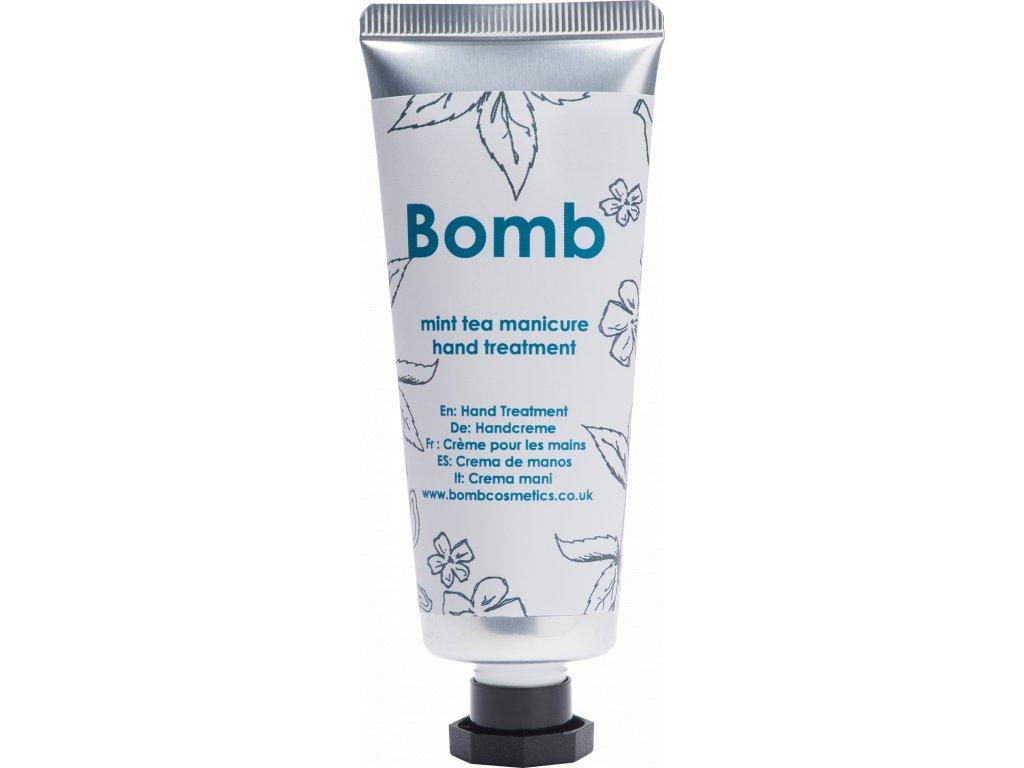 bombmint tea manicure