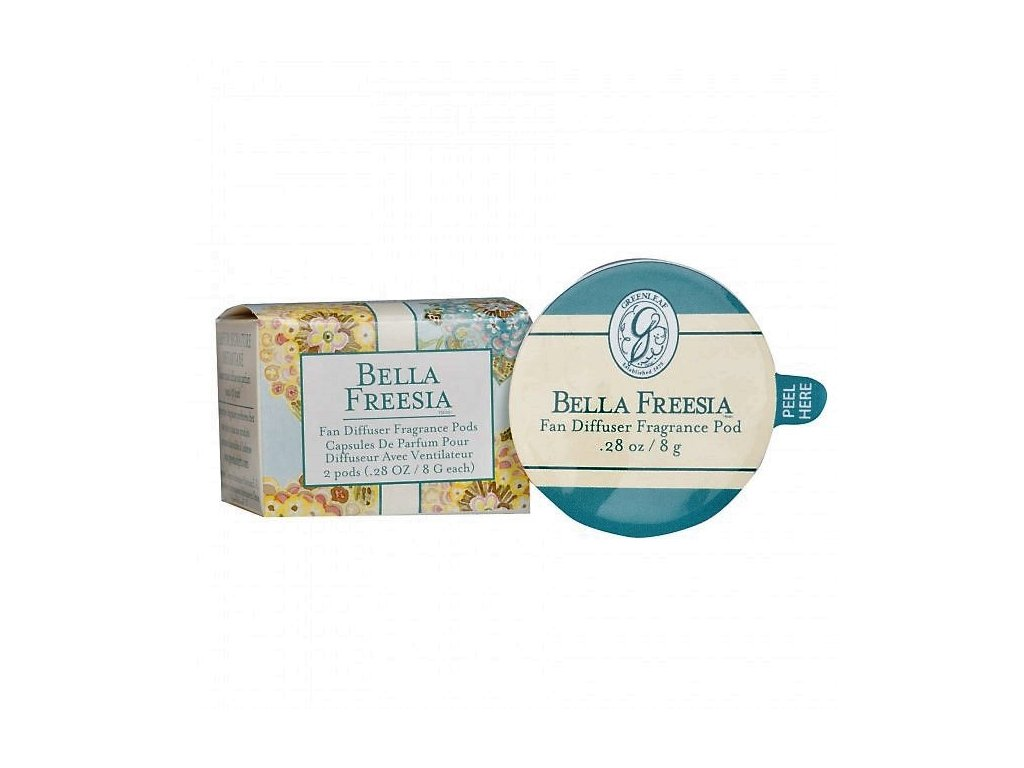 gl fragrance fan diffuser pods bella freesia