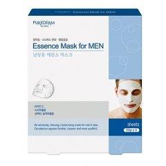 Purederm Pleťová maska s esencí pro muže 5ks/balení