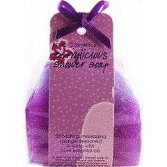 Bomb cosmetics Sprchové masážní mýdlo Černý rybíz 140 g