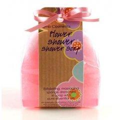 Bomb cosmetics Sprchové masážní mýdlo Květiny 140 g