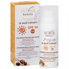 Victoria Beauty ARGAN Voděodolný ochranný pleťový krém na opalování SPF 30 50 ml