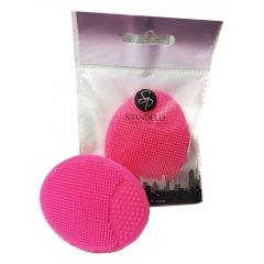 Standelli Proffesional silikonová masážní houbička růžová