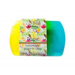 Victoria Beauty Glycerinové mýdlo Tropické ovoce 70g