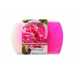 Victoria Beauty Glycerinové mýdlo růže damašská
