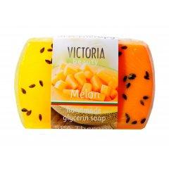 Victoria Beauty Glycerinové mýdlo žlutý meloun 70g