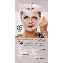 Victoria Beauty DETOX Silver Slupovací maska se stříbrem a kolagenem 10ml