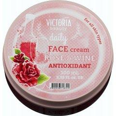 Victoria Beauty Daily Antioxidační pleťový krém s růžovým olejem 100 ml