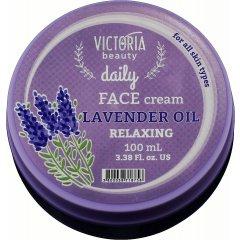 Victoria Beauty Daily Zklidňující pleťový krém s levandulí 100 ml