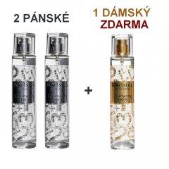 Aristea Eau de parfum NUMEROS 2 pánské + 1 dámský parfém ZDARMA 3 ks