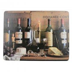 Creative Tops Korkové prostírání Vintage Wine velké, 6 kusů, 30x23 cm