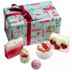 Bomb cosmetics Vánoční dárková sada koupelových balistiků Buď moje, 5 ks