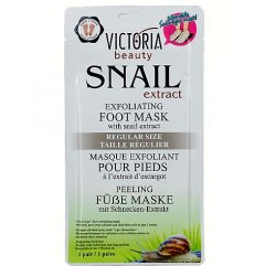 Victoria Beauty Exfoliační ponožky Snail extract 1 pár Regular 2x20 ml