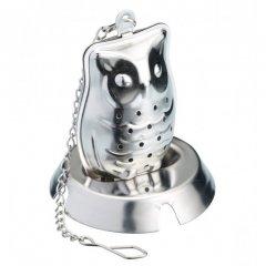 Kitchen craft Nerezové čajové sítko Owl (sova)