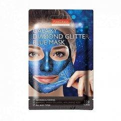 Purederm Galaxy Slupovací maska Diamantový třpyt modrá 10g