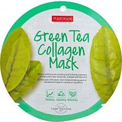 Purederm Kolagenová buničitá maska se zeleným čajem