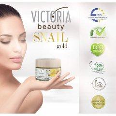 Victoria Beauty SNAIL gold Denní krém se šnečím extraktem a arganovým olejem 50 ml
