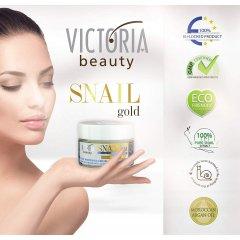 Victoria Beauty SNAIL gold Intenzivně bělící krém se šnečím extraktem a arganovým olejem 50 ml