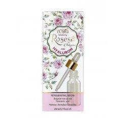 Victoria Beauty Roses and hyaluron Regenerační sérum s růžovým olejem a kyselinou hyaluronovou 20 ml