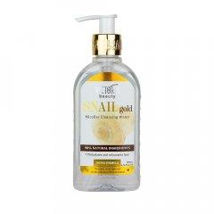 Victoria Beauty SNAIL gold Micelární voda se šnečím extraktem a arganovým olejem 200 ml