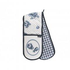 Creative Tops Dvojitá rukavice Vintage indigo 85x18 cm