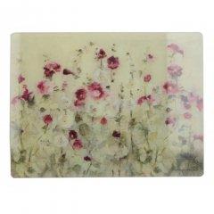 Creative Tops Skleněné prkénko Wild Field Poppies 40x30 cm