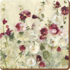 Creative Tops Korkové podložky pod hrníčky Wild Field Poppies 10,5x10,5, 6 ks