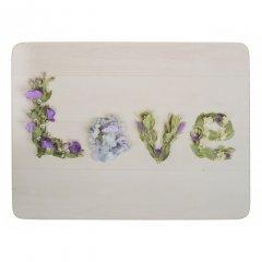 Creative Tops Korkové prostírání Floral Love (květinová láska), 4 ks, 29x21,5 cm