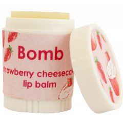 Bomb Cosmetics Balzám na rty Jahodový koláč 4,5 g