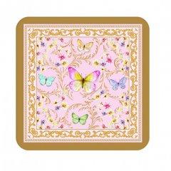 Easy Life Korkové podložky Majestic Butterflies 10,5x10,5 cm 6 ks