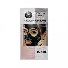 Standelli Professional Černá slupovací peel off maska s aktivní uhlím 8 ml
