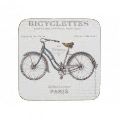 Creative Tops Korkové podložky Bicycle 10,5x10,5 cm 6 ks