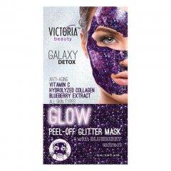 Victoria Beauty Slupovací maska Galaxy Detox s výtažky z borůvek 10 ml