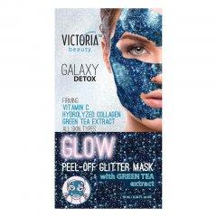 Victoria Beauty Slupovací maska Galaxy Detox s výtažkem ze zeleného čaje 10 ml