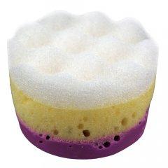 Victoria Beauty Masážní glycerinové mýdlo s houbičkou Levandule 60 g