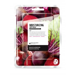 Farmskin SUPERFOOD Hydratační plátýnková maska Beet (červená řepa) 25 ml