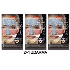 Purederm GALAXY 3x Multi masking program pro suchou pokožku AKCE 2+1 ZDARMA 3ks