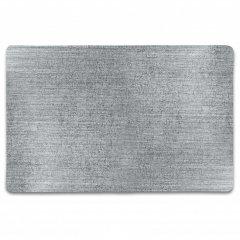 Unique living Vánoční prostírání metalické stříbrné velké 30x45 cm 1 ks