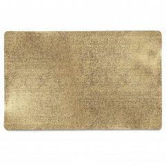 Unique living Vánoční prostírání metalické zlaté velké 30x45 cm 1 ks