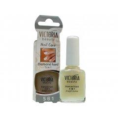Victoria Beauty Nail Care Diamantová pevnost pro vaše nehty 5 v 1, 12 ml