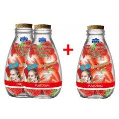 Purederm Zvláčňující jogurtová pleťová maska s jahodami, 2+1 ZDARMA, 3ks