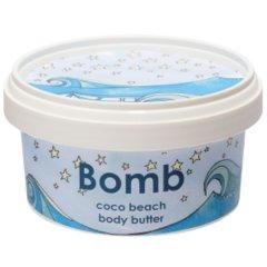 Bomb cosmetics Tělové máslo Kokosová pláž, 200 ml