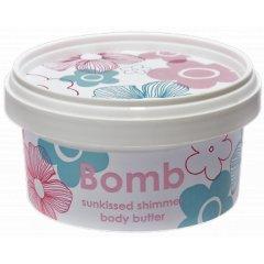 Bomb Cosmetics Slunečně třpytivé tělové máslo, 200 ml
