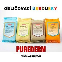 Purederm Čisticí pleťové ubrousky s arganovým olejem, 30 ks