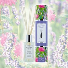 Ashleigh & Burwood Difuzér LAVENDER & BERGAMOT (levandule a bergamot) THE SCENTED HOME 150 ml