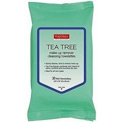 Purederm Čisticí pleťové ubrousky s tea tree olejem, 30 ks